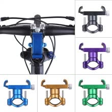 -Aluminum Alloy Mobile Cell Phone Holder Mount Bracket Cycling MTB Bicycle Set on JD
