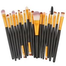 -20 Pcs Makeup Brush Set Professional Face Eye Shadow Eyeliner Foundation Blush on JD