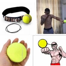 sports-Fight Ball With Head Band For Reflex Speed Training Boxing Boxing Punch MMA Combat Sports Gear Exercise on JD