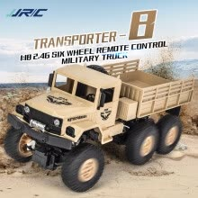 -JJR/C Q69 RC1:18 2.4G Remote Control 4WD Tracked Off-Road Military Truck Car RTR on JD