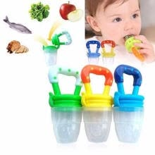 healthy-food-Newborn baby safety and environmental protection pollution-free silicone nipple fresh food fruit auxiliary molar soother on JD