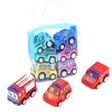 -Children Simulate Educational Trailer Toy Inertia Truck Kids Race Car Set 6PCS on JD