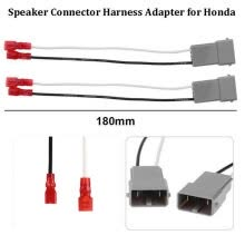 -4x Car Speaker Connector Harness Wires Adapter For Honda Accord Civic Hybrid CRV on JD