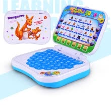 -Toy Computer Laptop Tablet Baby Children Educational Learning Machine Toys Electronic Notebook Kids Study Game Music Phone new on JD
