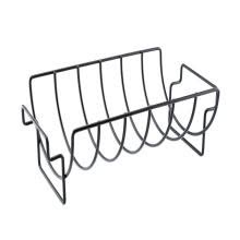 -BBQ Tools Steak Holders Non-Stick Stainless Steel  Rack Grill Stand Roasting Rib Rack Kitchen Accessories on JD