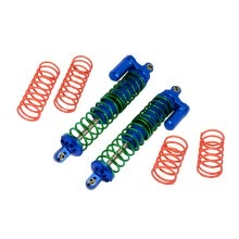 -2Pcs Aluminium Front/Rear Adjustable Spring Shocks For TRAXXAS X-MAXX 1/5 RC Car on JD