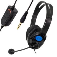 -Bluelans Wired Noise Cancelling Gaming Headset Headphones with Microphone for Sony PS4 on JD