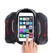 -WEST BIKING Bicycle Bags Front Frame Fine-quality MTB Bike Bag Cycling Accessories Waterproof Screen Touched TopTube Phone Bag 180 on JD