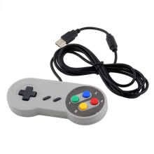 -Gaming USB Controller Wired Gamepad Joystick for Nintendo SNES System Console Control Game Pad on JD