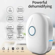 heaters-300ML Portable Mini Dehumidifier Electric Quiet Air Dryer for Home Bathroom on JD