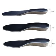 shoe-pads-Sunisery Men Women Height Increase Shoes Inserts Insoles Heel Lifts Pads on JD