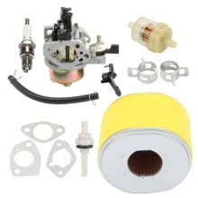 -Carburetor Air Filter Fuel Gas Tank Joint Filter For Honda GX340 GX390,11HP 13HP on JD
