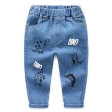 -Spring Summer 2020 Children's Pants Mosquito-proof Dinosaur Printing Trousers Boys Costime for Kids Clothes 2-7Y on JD