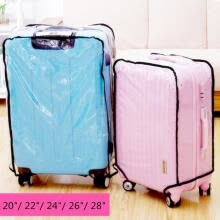 -20/22/24/26/28 inch Clear Dust-proof Luggage Suitcase Protective Cover Case lugg on JD