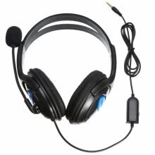 -3.5mm Wired Headphone Game Headphones With Microphone Headset for PS4 Sony PlayStation 4 /PC Computer on JD