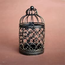 -Candlestick Retro Hollow Bird Cage Candle Holder Best Gift Xmas Home Decoration on JD