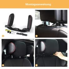 seat-cushions-The car side sleep headrest is comfortable, simple, fashionable and easy to install to protect the cervical spine on JD