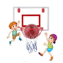-Inkach Professional Mini Basketball Frame, Suitable for Indoor and Outdoor on JD