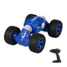 -1/16 2.4G 4WD Double-sided Flip One Key Transformation RC Stunt Car Crawler Off-road Climbing Racing Car Toy for Kids Boys on JD
