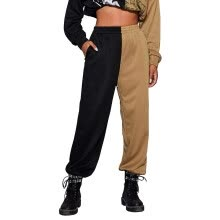 -Female Trousers Elastic High Waist Loose Pants Ankle Banded Pants on JD