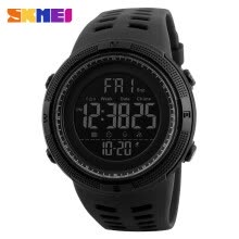 -New Fashion Luxury Sport Watch Men SKMEI Digital LED Waterproof Outdoor Dress Watches Chrono Countdown Dual Time Wristwatches on JD