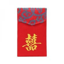 -Unique Cloth Red Envelope With Bless Personality Red Bag For New Year Portable Large on JD