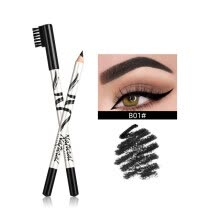 -Natural Tattoo Eyebrow Pencil Smudge-proof Eyebrow Pen Waterproof Long Lasting With Brush Cosmetics Black Eye Brow Tint Makeup on JD