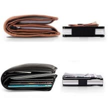 video-cameras-Hot Carbon Fiber Clip Ultra-Thin Metal Clip Can Accommodate Multiple Debit and Credit Cards Wallet on JD