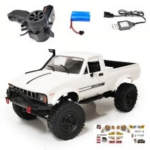 -Model Toys Climbing Vehicle Truck Racing Electric Kids Gift RC Car For WPL C24-1 on JD