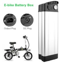 -Battery Box Protective Storage for Electric Bike E-bike 36V 48V Holder Case on JD