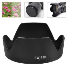 -EW-73B Lens Hood Reversible Camera Lente Accessories For Canon 650D 550D 600D Camera Len Cover on JD