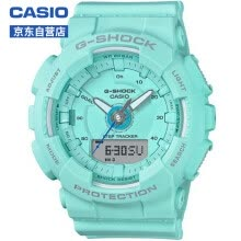-CASIO watch G-SHOCK series sports step waterproof female watch fashion watch GMA-S130-2A on JD