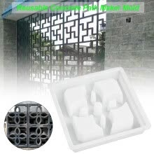 -Paving Mold With Flower Pattern Plastic Unique Cement Brick Mold For Garden Courtyard Stone Road Decoration on JD