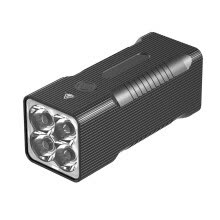 -4*XHP90 LED Flashlight Tactial Super Bright Type-c Recharge Torch 10400mAh on JD