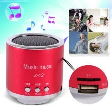 -Handfree Wired Portable Mini Speaker Subwoofer FM Radio USB Micro SD TF Card MP3 Player on JD