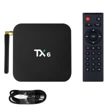 -TureClos TV Topbox Quad-core CPU 4K Resolution 4G+64G Bluetooth WiFi Network TV Media Player AU Plug on JD