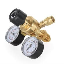 -TFCFL Argon Pressure Reducing Valve Industrial Argon CO2 MIG Welding Regulator Double Gauge on JD