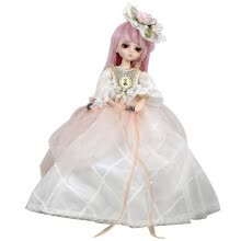 -EVA BJD Diana 1/4 BJD Doll Full Set Ball Jointed Doll + Clothes + Wig + Shoes + Makeup + Accessories on JD