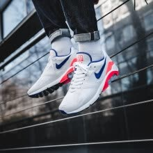 new product 8472e f5aa5 Nike Air Max 180 Ultramarine OG Men s and Women s Running Shoes,Shock  Absorbing Breathable White   Blue   Pink,615287 100