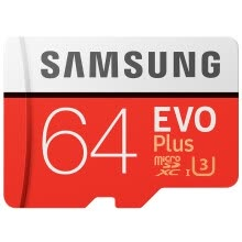 -SAMSUNG 100% Original TF Micro SD Card memory Card MicroSD EVO Plus Class 10 Grade 3 32GB 64GB 128GB Smartphone Tablet Camera on JD