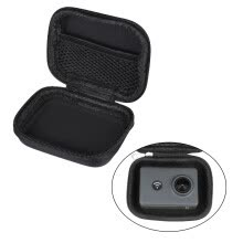 -Mini Portable PU Camera Case Bag Water-resistant Storage for GoPro Hero 6/5/4/3+ Xiaomi Yi 4K + Lite Action Camera on JD