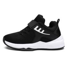 9f4ee7ac1336 Breathable Rubber Bottom Boy Basketball Shoes Big Kid Non-skid Damping  Children Casual Running Shoes Girl Sneakers