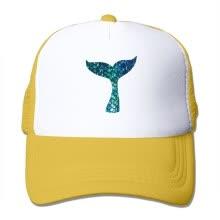 56b87b9a44c3b Sombreros ajustables adultos de los sombreros de camionero de las gorras de  béisbol de la malla de la sirena de Oyxinyu para los hombres mujeres