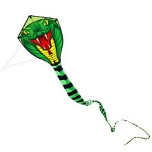 leisure-sports-games-8M/15M Giant Snake Kite Single Line Flying Kite Outdoor Sports Fun Toy with 30M Line on JD