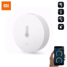 8750214-Xiaomi Mijia Smart Temperature and Humidity Sensor Thermometer Sensor Put the Baby Home Office Work with Mi Home APP on JD