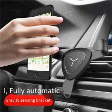 87506-Car Phone Holder for iPhone Samsung MI Gravity phone bracket Universal Car Holder in Car Air Vent Mount Cell Support Gifts on JD