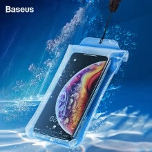 -Baseus Waterproof Phone Case for iPhone Xs Max XR Water Proof Bag for Samsung S9 S10  HuaWei P30 P20 Mobile Phone Pouch Cover on JD