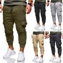 -Men Sport Pants Long Trousers Tracksuit Fitness Workout Joggers Gym Sweatpants on JD