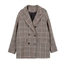 suiting-blazers-Fall 2018 collection Grid career Small suit jacket female on JD
