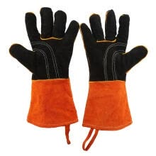 -Greensen 1Pair Thicken Outdoor Barbecue BBQ Oven Grill Heat Resistant Cooking Protection Gloves  on JD